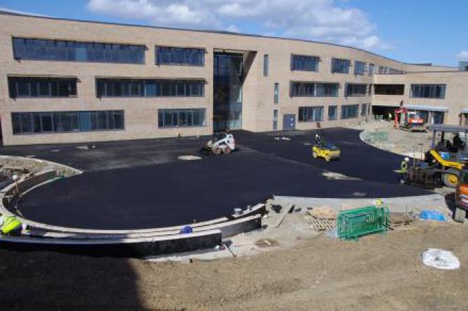 Construction progress Dixons Allerton Academy